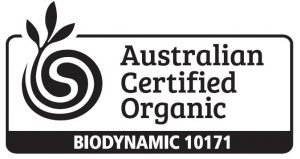 Certified Organic and Biodynamic